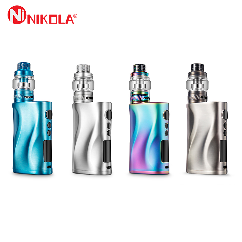 Original Nikola Medea Vape Kit 218W Box Mod With Nikola Lapetus Powered By Dual 18650 Battery