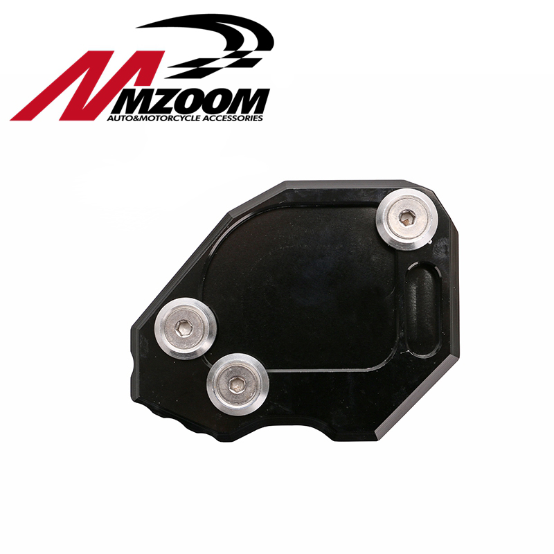 FREE SHIPING Kickstand Foot Side Stand Extension Pad Support Plate For BMW F800GS F800 GS 2009 2010 2011 2012 2013 2014 2015 motorcycle side stand enlarger cnc kickstand side stand extension enlarger pate pad for bmw f800gs