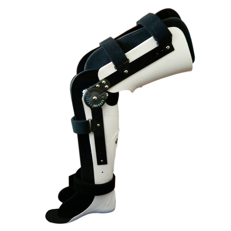 Adjustable fixed leg orthosis brace lower extremity orthosis fractures tibia and fibula knee-ankle orthosis fixation devices