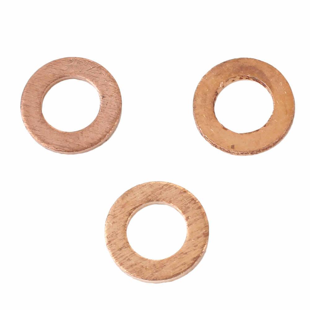 20 unids/pack surtido de junta de arandela de cobre Kit de accesorios de enchufe 5X9X1MM