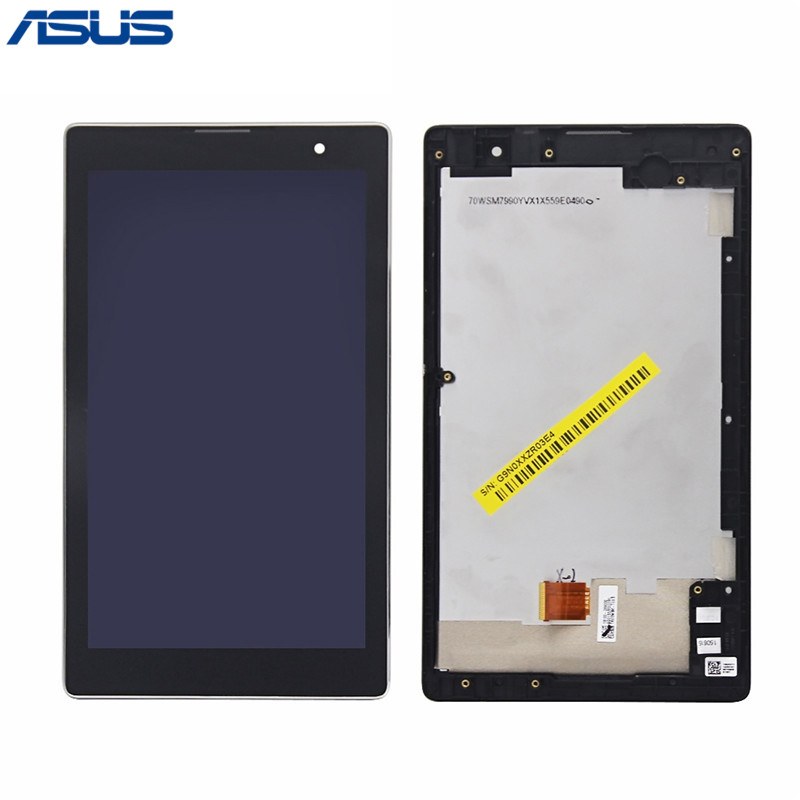 Asus Z170CG LCD Display Touch Screen Assembly Repair Part For Asus ZenPad C 7.0 Z170 Z170CG LCD screen For Asus Z170CG z170 high quality soft tpu rubber cover semi transparent back case for asus zenpad c 7 0 z170 z170c z170mg z170cg silicone cover