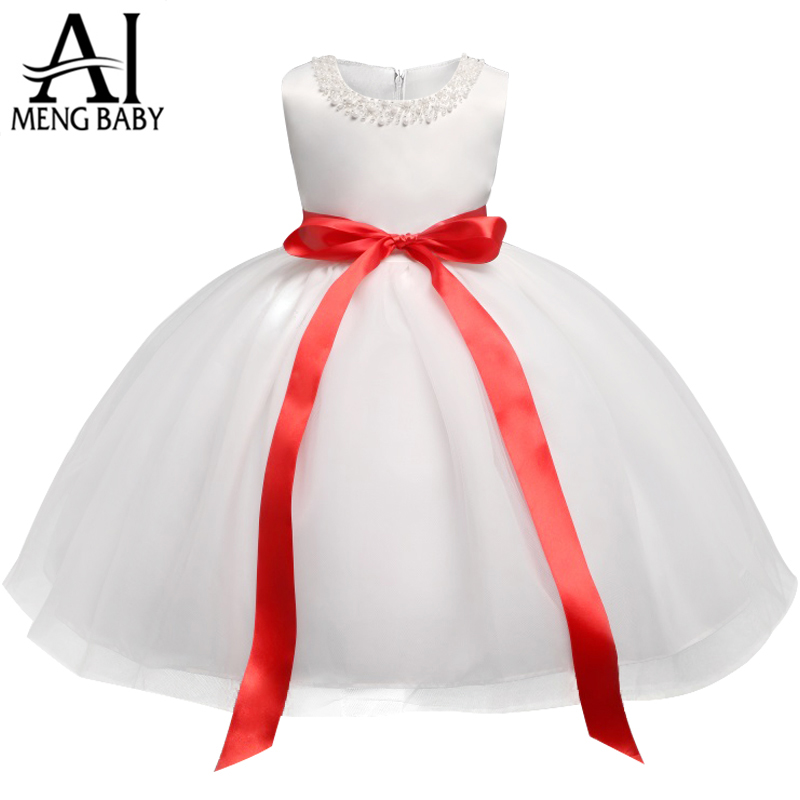 542f444f8371 Aliexpress.com   Buy White Baby Dresses For Baptism Baby Frocks ...