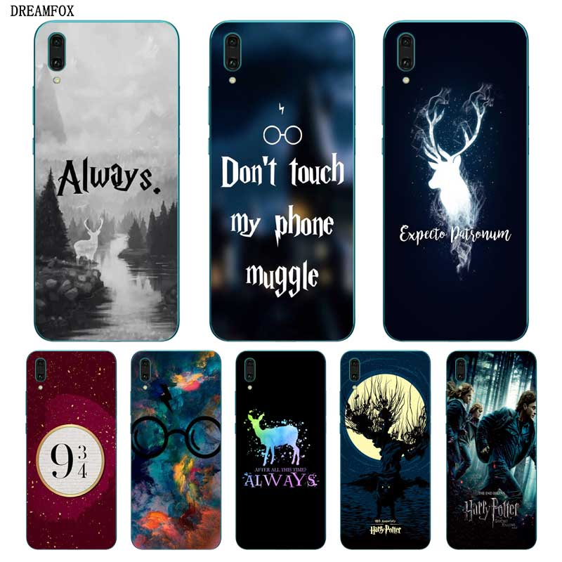 N332 Harry Potter Soft TPU Silicone Cover For <font><b>Huawei</b></font> Y5 Y6 <font><b>Y7</b></font> Y9 Prime Pro 2017 2018 <font><b>2019</b></font> <font><b>Case</b></font> image