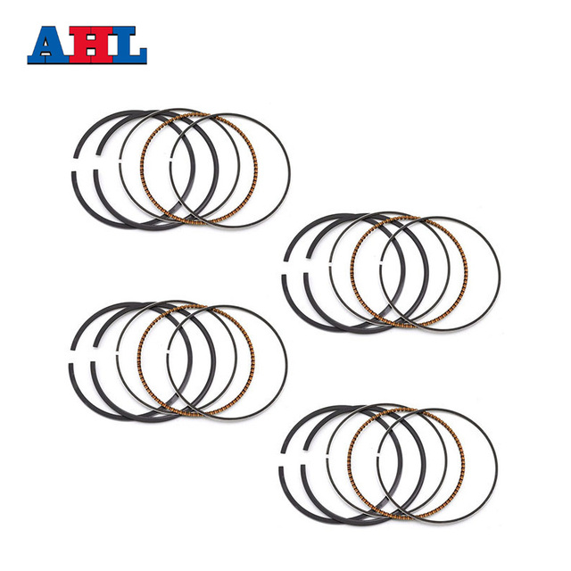 Motorcycle Engine parts STD Bore Size 66mm piston rings