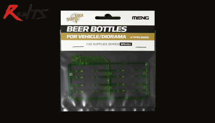 MENG MODEL 1/35 SCALE Military Models #SPS-011 BEER BOTTLES FOR VEHICLE/DIORAMA