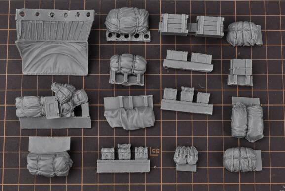 1/35 Modified Parts Resin Package For Churchill Tank 1 Set