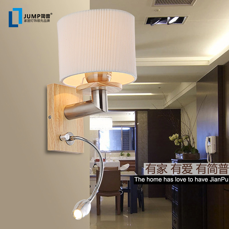 modern minimalist wall led reading lamp room wall lamp bedside reading lights Y0983