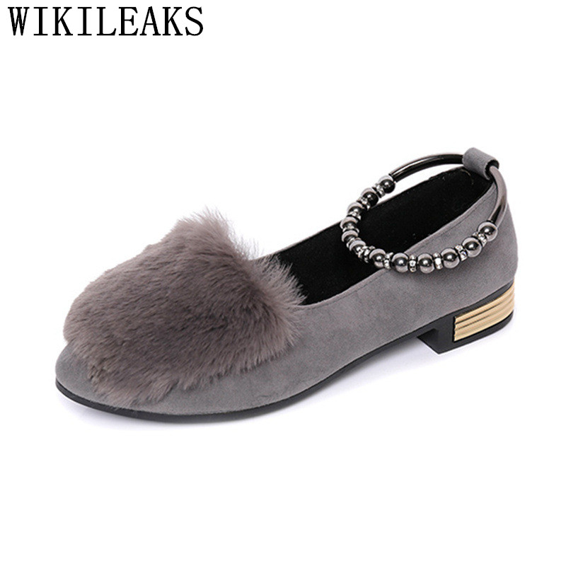 designer fur slip on flat shoes for women flock ladies shoes espadrilles loafers luxury brand sapato feminino zapatos de mujer new designer women fur flats luxury brand slip on loafers zapatillas mujer casual ladies shoes pointed toe sapato feminino black