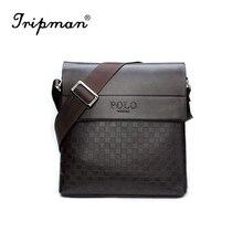 2017 special offer leather men messenger bag fashion brand men business crossbody bag brand POLO  Shoulder Bag briefcase