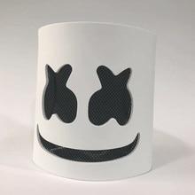 DIY EVA Marshmallow Helmet DJ Marshmallow Mask Concert Props Future Bass Music Fans Prop Bars Prop