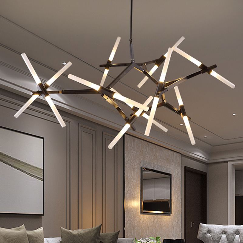 LED Creative Arts Pendant Lamp Modern Brief Design Personality Living Room Dining Room Restaurant villa Tree Branches Chandelier led creative personality chandelier modern minimalist dining room bedroom lamp romantic living room lamp