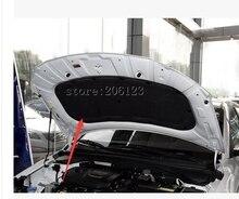 Izolacja akustyczna izolacja termiczna bawełna bawełna izolacja cieplna pad zmodyfikowanych produktów akcesoria samochodowe Dla Hyundai Ix25 Creta