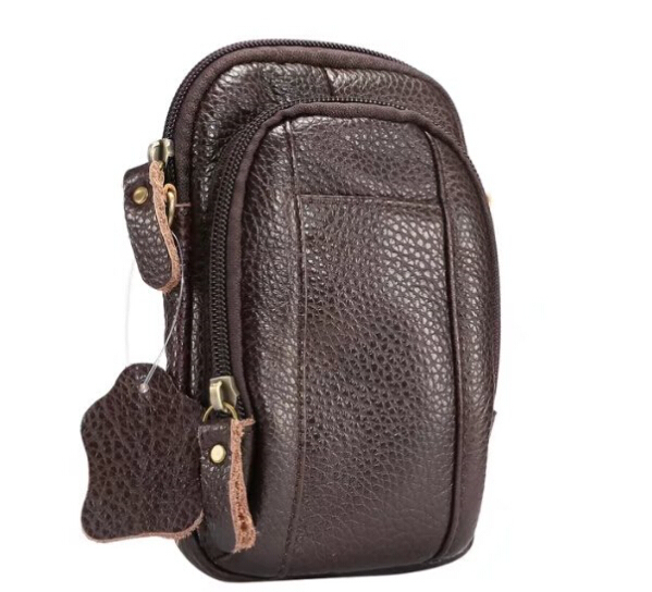 best service 59053 d8a08 US $18.99 |Shoulder Holster Belt Clip Genuine Leather Mobile Phone Case  Dual Pouch For iPhone 8/8 Plus,ASUS Zenfone 4/4 Pro/4 Selfie/4 Max-in Phone  ...