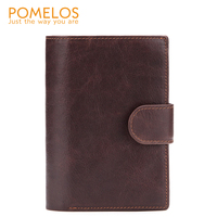POMELOS Men Wallet 2019 New Arrival Wallet Men Genuine Leather Functional Man Wallet With Passport Pocket Small Leather Purse