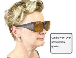 Image 2 - GTY 532 نانومتر ، 1064nm نظارات السلامة بالليزر متعددة الطول الموجي ، نظارات حماية الليزر بدون شفة ND:YAG حماية الليزر