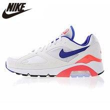 on sale a1380 69641 Nike Air Max 180 Ultramarine OG chaussures de course pour hommes et femmes,  blanc   bleu   rose, absorbant les chocs respirant 6.