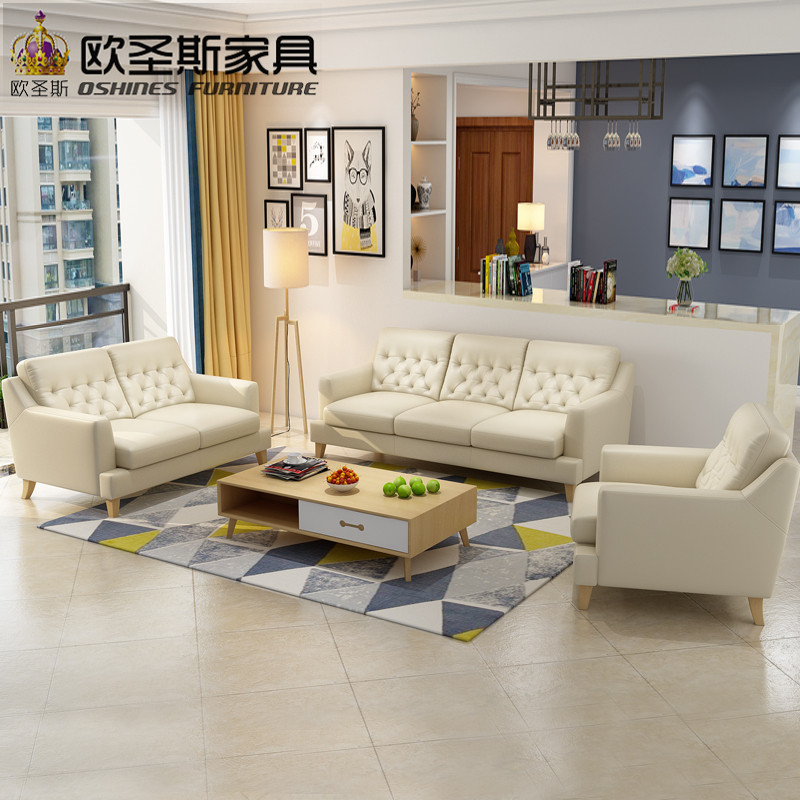 terrific european style living room furniture   2019 new coming North european style simple deisign ...