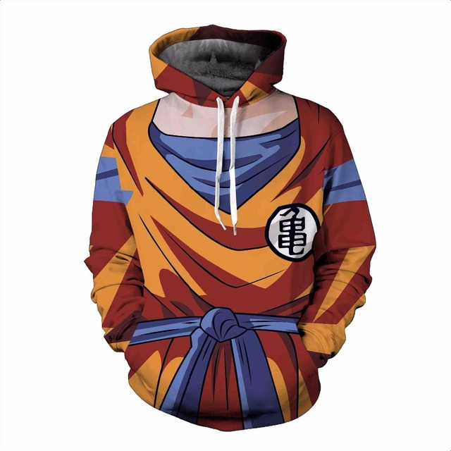 Unisex Dragon Ball Z Sweatshirts Hoodies Pullovers