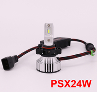 1 Set PSX24W F2 Car LED Headlight H1 H7 LED H8 H9 H11 9005 9006 9012 72W 12000LM CSP Chips Turbo Fan 6K White Front Lamps Bulb