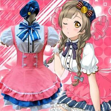 Love Live! Minami Kotori cosplay costume Carnival costume for women anime clothes fancy dress Maid costume