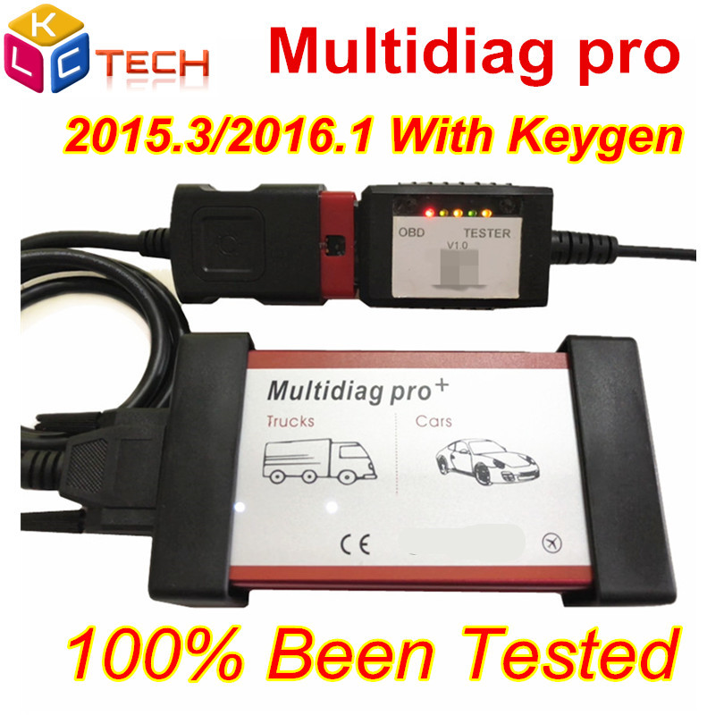 New Arrival  Multidiag Pro Bluetooth 2016R1 With KEYGEN for Cars/Trucks Auto OBD2 Diagnostic Scan Tool