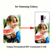 DIY Photo images design Customize Mobile Phone Case For Samsung Galaxy S7 Edge S8 S9 S10 Plus Note8 9 10