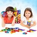 Mini Bloques Juguetes Para Niños 121 Unids/set Modelos y Juguete Del Edificio de Diseño Magnético Juguetes Educativos Para Niños Bloques de Montaje de Ladrillos