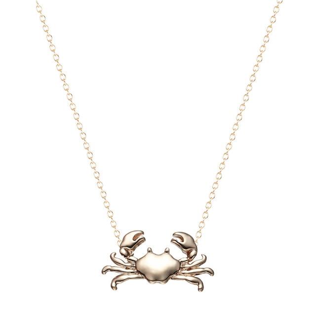 Kinitial 10pcs silver gold cute maryland crab pendant necklace kinitial 10pcs silver gold cute maryland crab pendant necklace cancer zodiac necklace pendant horoscope sign aloadofball Choice Image