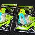 2 Pares de Gel de Silicone Pé Metade Sole Palmilhas Calçados Cuidados Cushion Pad Palmilha Comfy Inserções