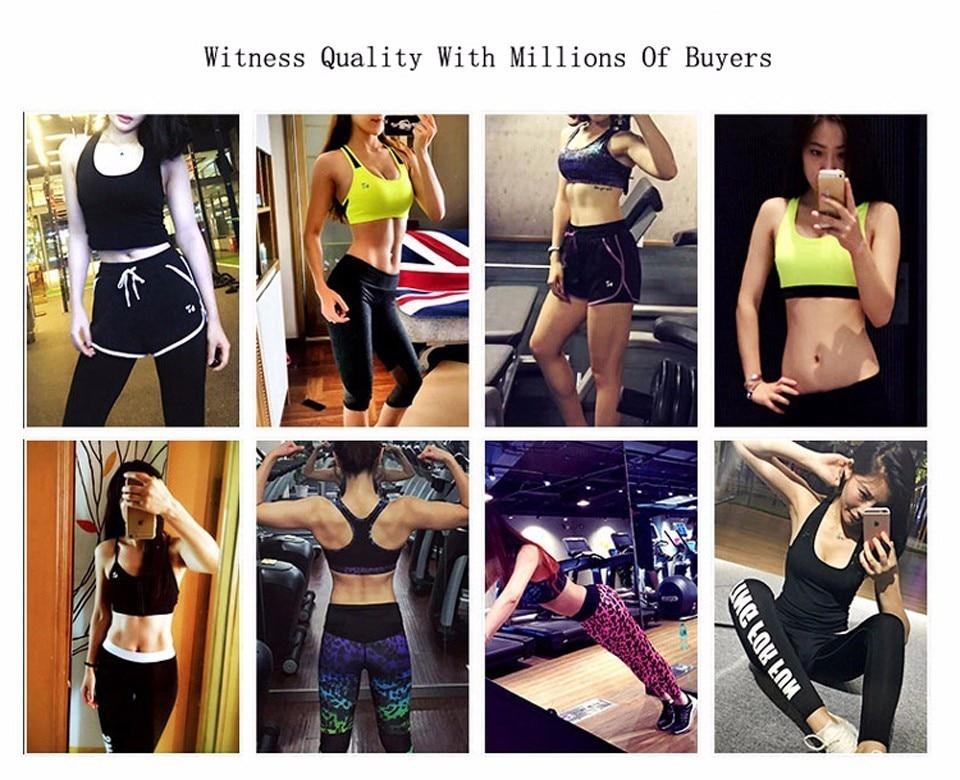bfcfbd1722422 Sports Top Fitness Women Push Up Sports Bra Shockproof Seamless Yoga Bra  Mesh Solid Sport Underwear Jogging Workout Running Vest