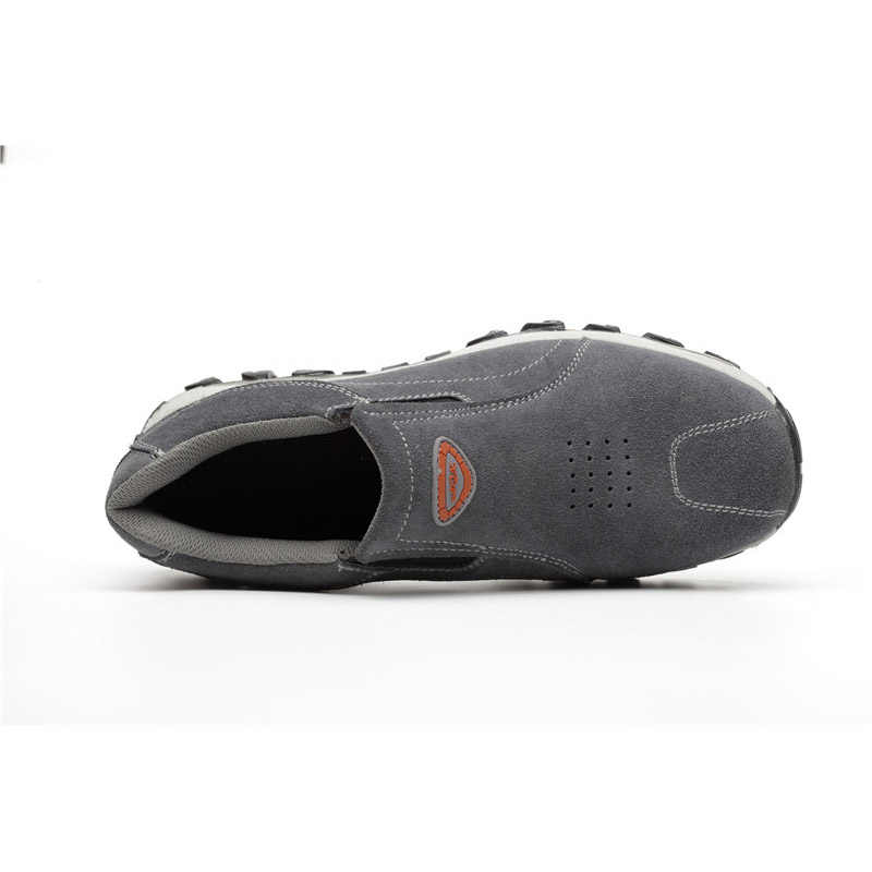 ROXDIA marka artı boyutu 39-46 çelik toecap kadın erkek çalışma ve güvenlik botları hakiki deri çelik orta taban adam kadın ayakkabı RXM103