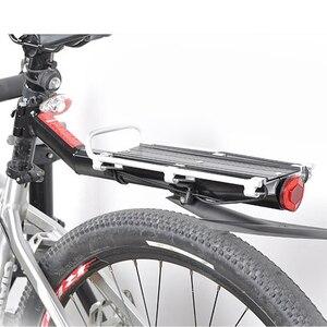 Универсальная велосипедная стойка для велосипеда, багажная переноска, задняя стойка для груза, отражающая полка, MTB велосипедная Подседель...