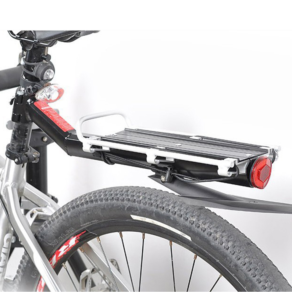 Universal Bike Rack Bicycle Luggage Carrier Cargo Rear Rack Reflector Shelf MTB Cycling Seatpost Bag Holder Stand Bicycle Racks access 3 student s book pre intermediate учебник
