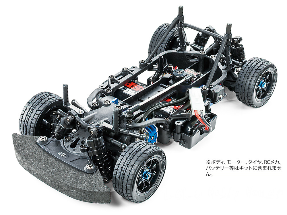 DIY TAMIYA 1/10 M-07 RC Concept Car Chassis Kit 58647 1 14 tamiya semi container trailer
