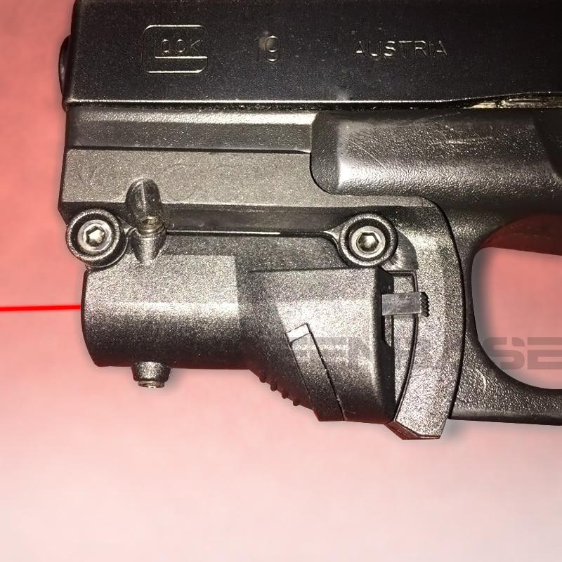 Laser Sight for Glock Gen 3 /& 4 Full Size /& Compact Pistols 17 19 20 21 22 23 31