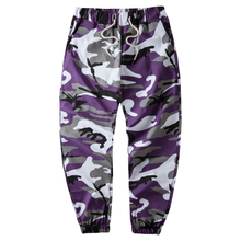 Camouflage Military Pants Cargo Pants Men Hip hop Skateboard Bib Overall Pants Ins Network With Bdu High Street Jogger Pants(China)