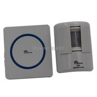 Welcome Wireless Pir Motion Sensor Doorbell Waterproof Sensor Detector High Sensitive Driveway Safety Alarm Bell Chime