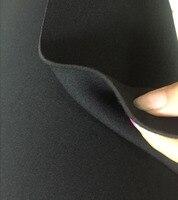 2.5MM thickness black SRB Neoprene fabrics