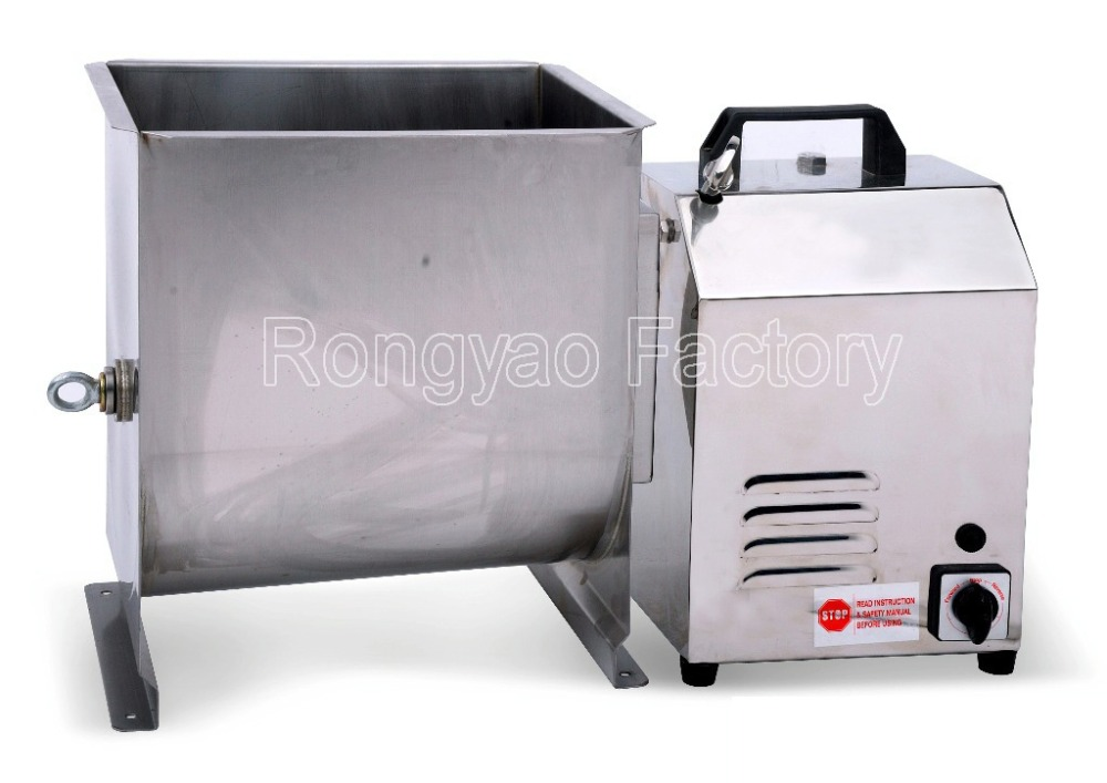 ryfme01 16l 27l stainless steel unique meat mixer stir all kinds of stuffing products - Meat Mixer