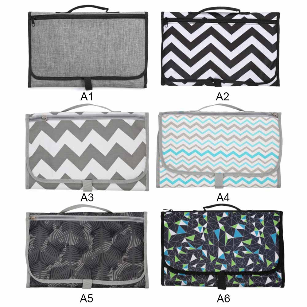 Portable Baby Changing Diaper Pad Bag Multifunction Baby Changing Diaper Table Waterproof Baby Care Maternal and Child Supplies
