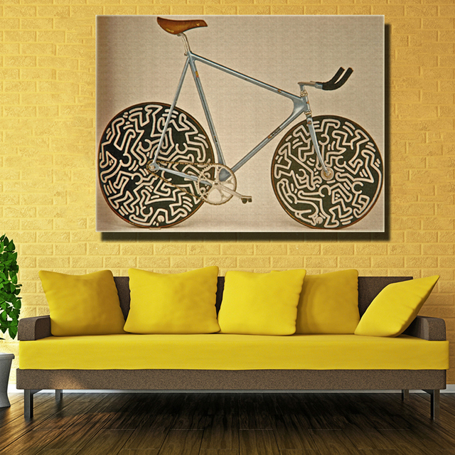 Famous Brand Cinelli Bike Picture Abstract Art Wall Decoration ...