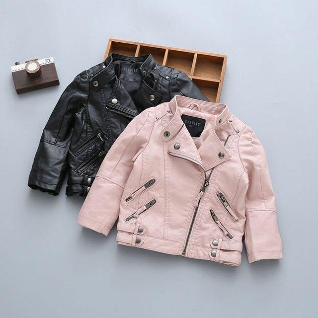 f0557b7bb49f 2017 Newborn Baby Boy Clothing Motorcycle Leather Coats Fashion ...