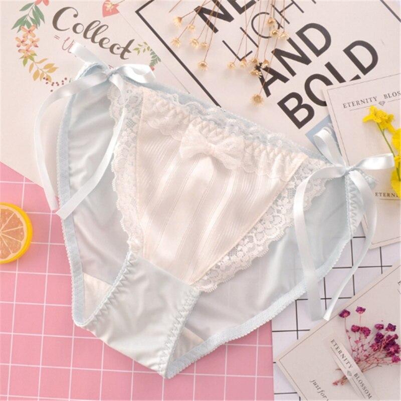 Bragas Sexy de mujer de cintura alta de encaje tangas y Tanga Sexy ropa  interior de 85a907953ac8