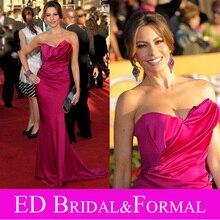 Sofia Vergara Kleid Fuchisia Berühmtheit Abend Prom Formal Pageant Kleid SAG Awards