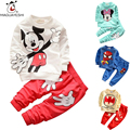 2016 Kids Clothes fashion Cartoon Baby girls Boys suits Colorful Top And Pants 2pcs Batman childrens Set Toddler Kids Tracksuits
