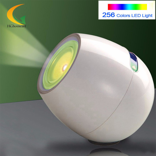 256 Living Colors Color Light Atmosfera LED Mood Light Touchscreen Barra de Rolagem USB 3d led luz noturna infantil