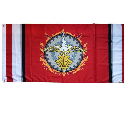 US $8 99 |BIG SIZE 145x75cm cotton flag of JP Anime Final Fantasy Type 0  Suzaku Phoenix -in Flags, Banners & Accessories from Home & Garden on