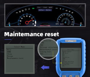 Image 4 - Xtool X300 Plus OBD2 Auto Key Programmeur Mainternance Licht Reast Diagnostic Tool Kilometerteller Aanpassing Code Reader Update Online