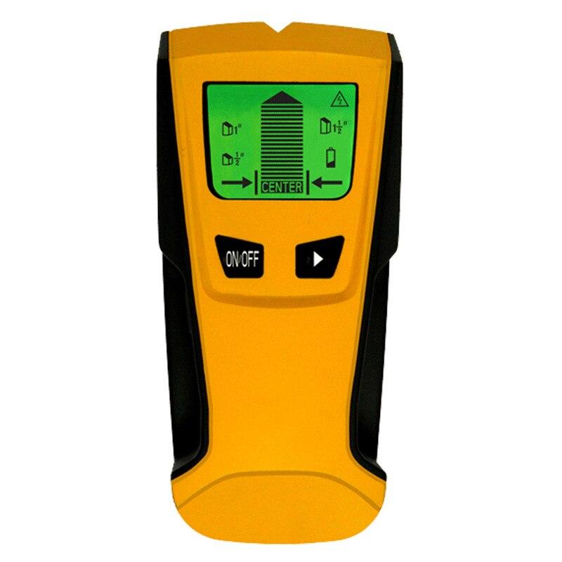 3 In 1 Metal Detector LCD Display Automatic Calibration Hand-held Wall Metal Wood Wire Detector Scanner Nail Seeker ST250