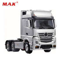 цена на RC 3 Speed Tiaxial TRAILER Hauler Assembly Car 1/14 remote control tamiya Tractor trailer head For 1:14 RC Tractor Truck #140401